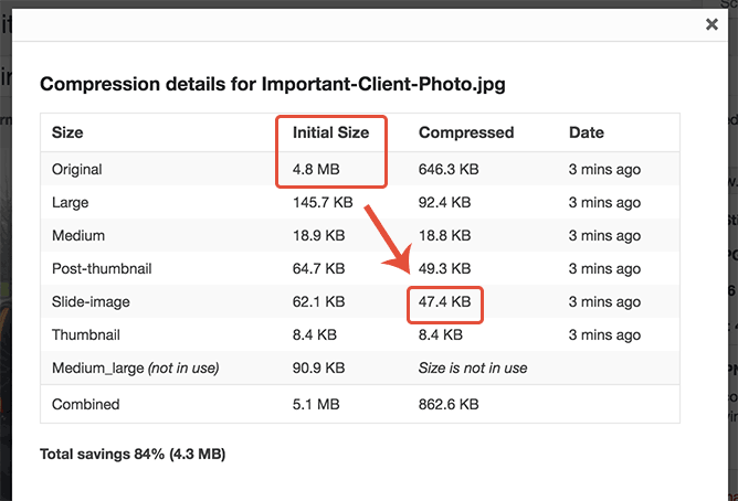 Our large file upload is now a reasonable file size and available in sensible dimensions.