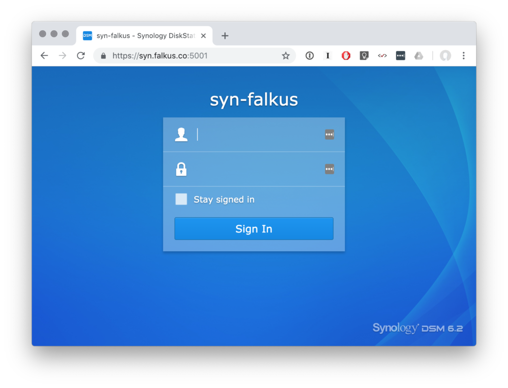 A Story about Let's Encrypt and my Synology NAS